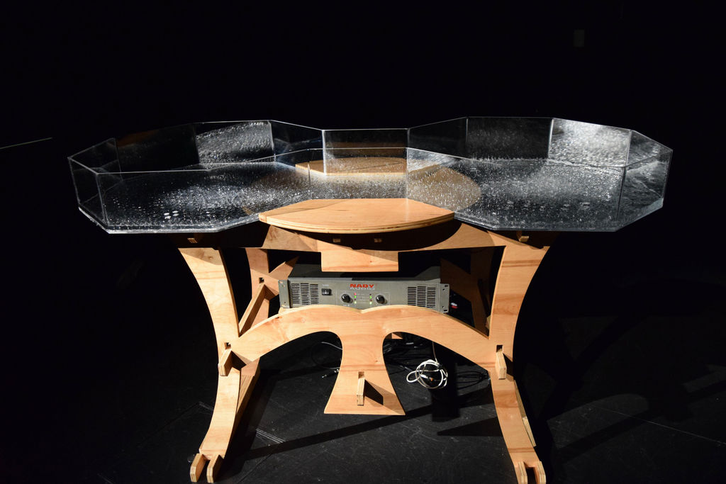 Cymatic water table (2015)
